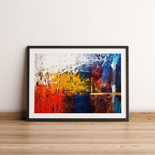 Oil Paint Abstrat