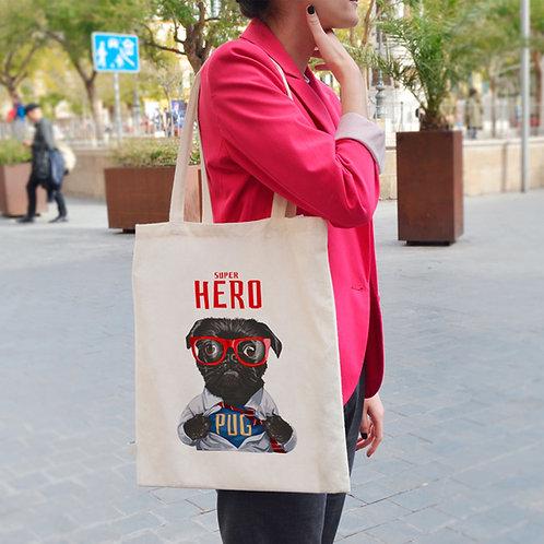 Super Dog Hero - Tote Bag