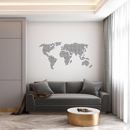 Travel Dot Map