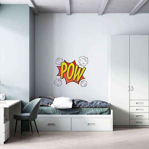 Cartoon POW - Vinil Decorativo