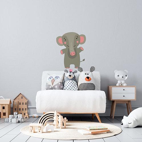 Ilustração de Elefante - Vinil Decorativo