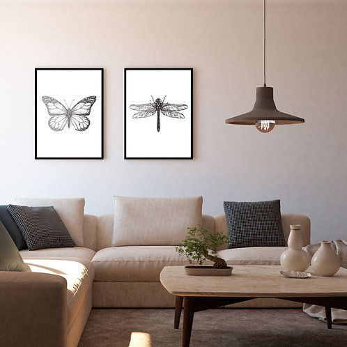 Butterfly Branco - Bug Collection