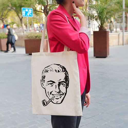 Retro Men 50's - Tote Bag