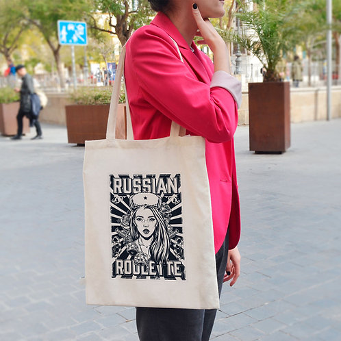 Russian Roulette - Tote Bag
