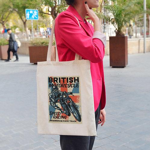 British Motorcycle - Tote Bag