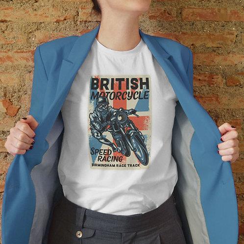 British Motorcycle Retro Design