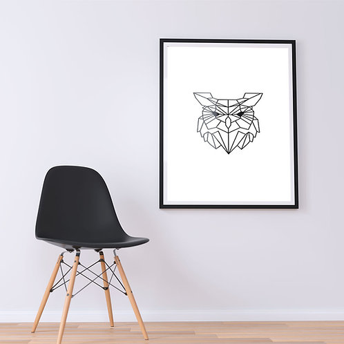 Owl - Geometric Collection