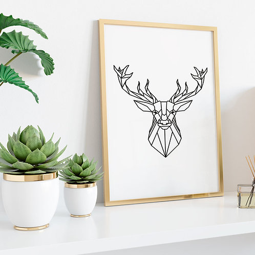 Deer - Geometric Collection