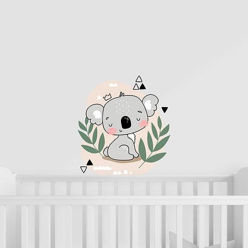 Ilustração de Coala para Quarto de Criança - Vinil Decorativo