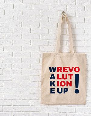 Wake Up Revolution! - Tote Bag
