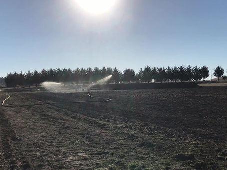 Vaughan Irrigator in action