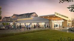 New Hilton Garden Inn Convention Center.