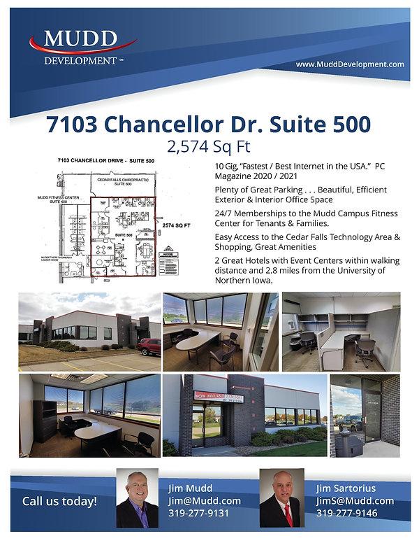 Mudd Development 7103 Suite 500 3-10-20.