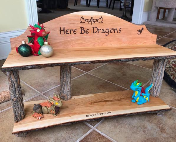 Dragon Lair Shelf