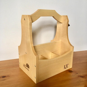 Six Pack Beer Caddy - Maple