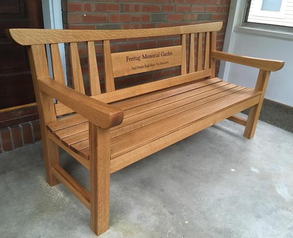Memorial Garden Bench