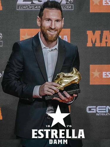 Messi's Bota d'Or