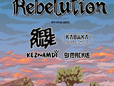 Rebelution Good Vibes Summer Tour