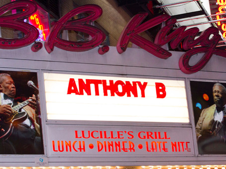 Anthony B live at BB King NYC