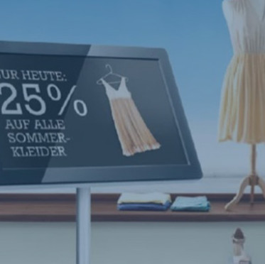 """Promotion Pad"" Digital Signage | New Business Development"