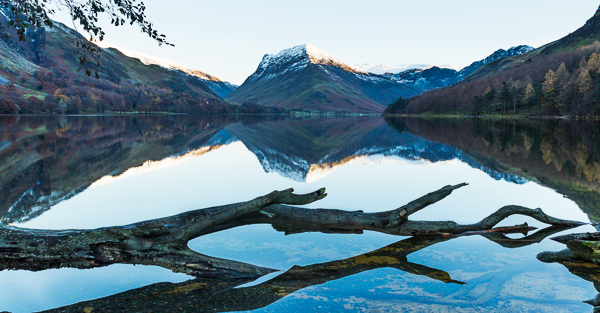 Buttermere reflections near and far
