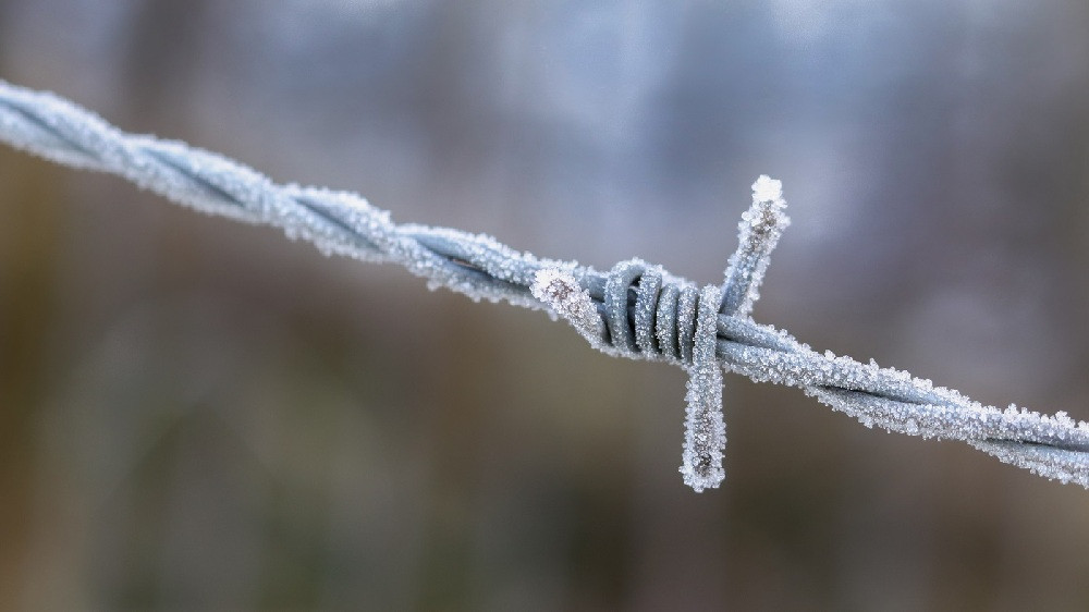 B-Barbed wire