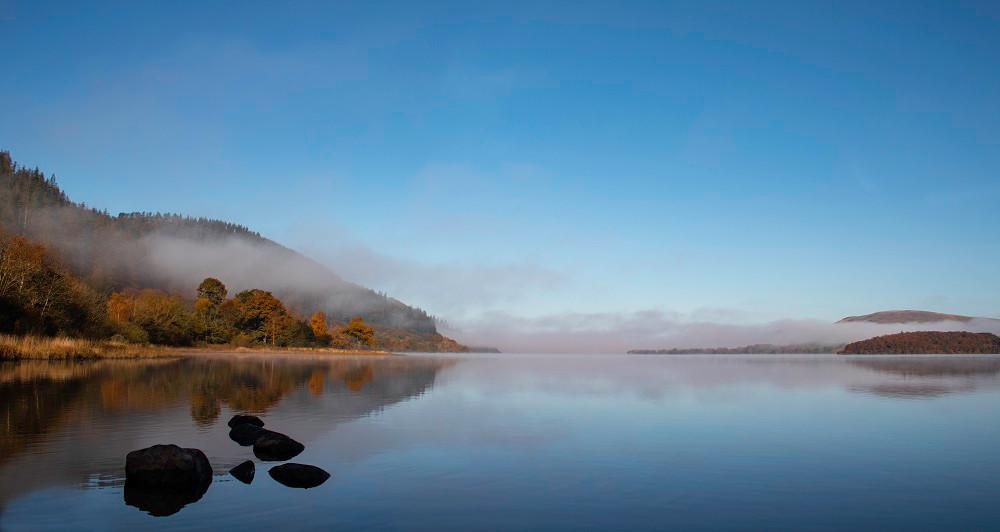 Morning mist on Bassenthwaite