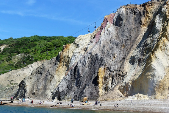 Alun Cliffs, Isle of Wight