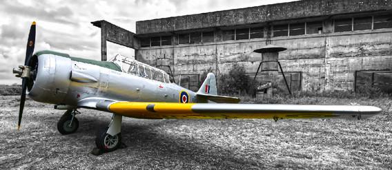 Havard at Kirkbride Airfield
