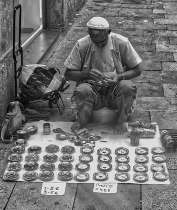 Barca Street Seller