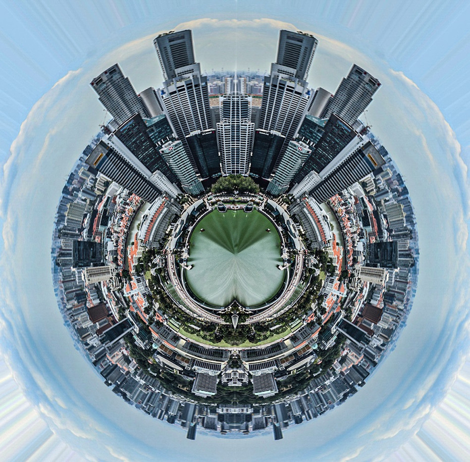 SINGAPORE SKYLINE PLANET