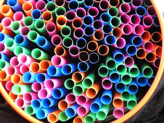 Coloured Straws