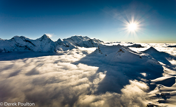 Alpine cloud inversion
