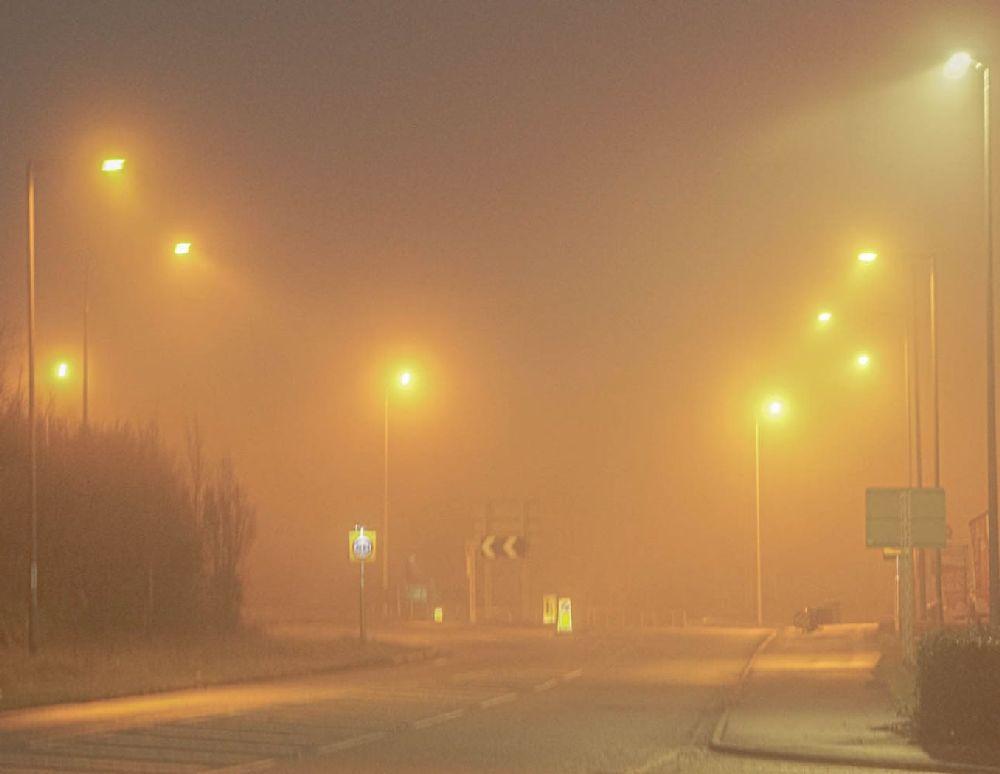 Eerie Misty Morning