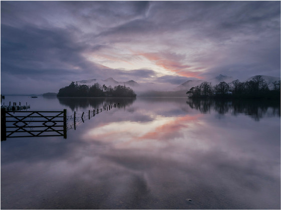 LATE LIGHT, MIST AND REFLECTIONS