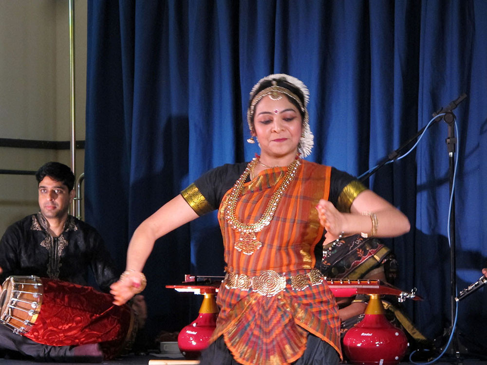 Indian Folk Dancer