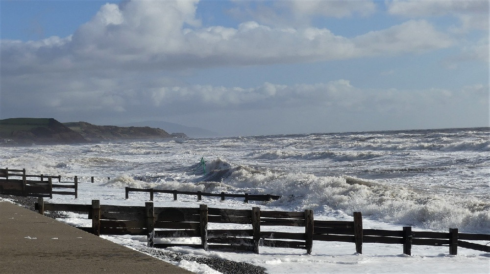 High waves-St Bees