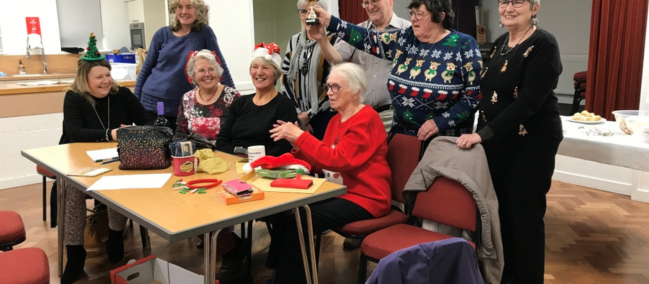 60th Birthday and Christmas Party – Friday 13th December 2019.