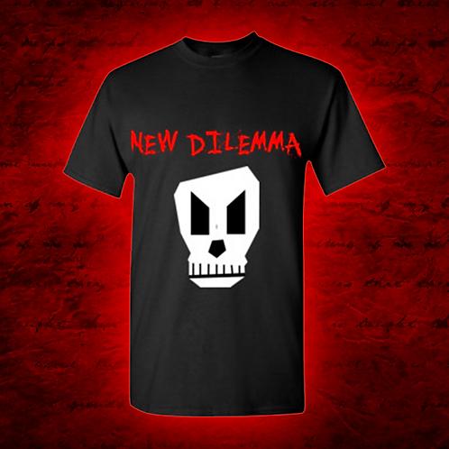 New Dilemma Skull T-Shirt (Front & Back Design)