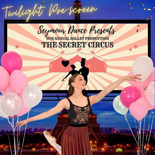 The Secret Circus Twilight Screening June 23rd