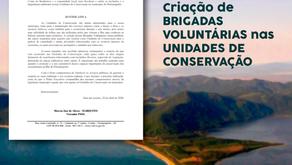 Indicação: Criação de Brigadas Voluntárias nas Unidades de Conservação