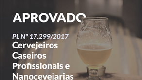 Projeto de Lei Cervejeiros Caseiros Profissionais e Nanocevejarias. N° 17.299/2017