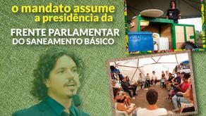 GABINETE MARQUITO: VEREADOR ASSUME A PRESIDÊNCIA DA FRENTE PARLAMENTAR DO SANEAMENTO BÁSICO