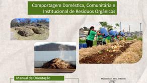 Manual de Orientação - Compostagem Doméstica, Comunitária e Institucional de Resíduos Orgânicos