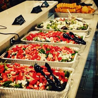Catering- Strawberry Balsamic Salad for the office! #fresh #local #natural #organic #salad #strawber