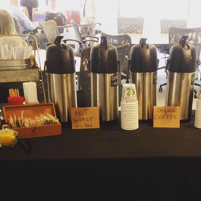 Did you know we offer beverage services for your office meetings!_ This one _shiftdigital1  includes