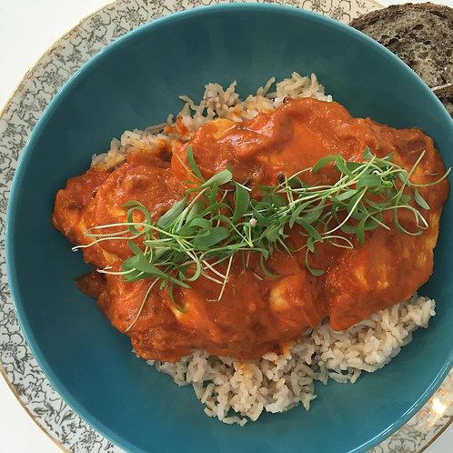 FAMILY MEAL: Tikka Masala (Chicken or Veggie)