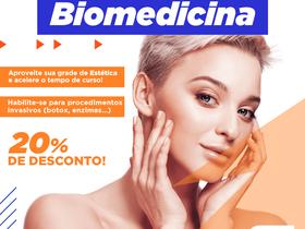 Quem fez Estética e Cosmética deve fazer Biomedicina?