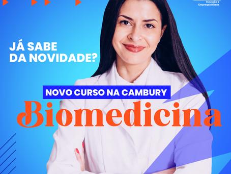 Biomedicina, o novo curso da Cambury