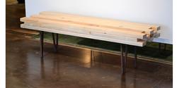 Bench with custom legs 2